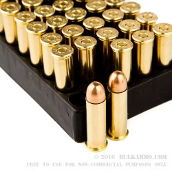 1000 Rounds of .38 Spl Ammo by Aguila - 130gr FMJ