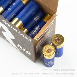 250 Rounds of 12ga Ammo by Rio - 1-1/4 ounce #7-1/2 shot
