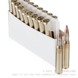 20 Rounds of 30-06 Springfield Ammo by Prvi Partizan - 165gr PSP