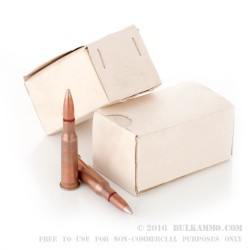 440 Rounds of 7.62x54r Ammo by Bulgarian Surplus - 147gr FMJ