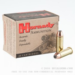 20 Rounds of .44 Mag Ammo by Hornady Custom - 300 gr XTP JHP