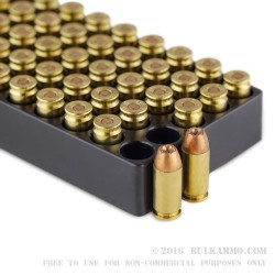 50 Rounds of .40 S&W Ammo by Winchester Ranger Bonded - 165gr JHP