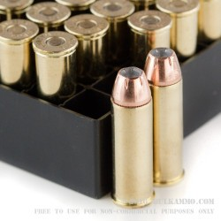 1000 Rounds of .44 Mag Ammo by Fiocchi - 200gr SJHP