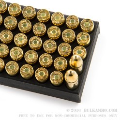 1000 Rounds of 9mm Ammo by Sumbro - 115gr FMJ