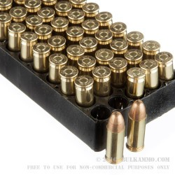 1000 Rounds of .38 Super Ammo by Armscor Precision - 125gr FMJ