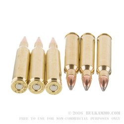 50 Rounds of .223 Ammo by Black Hills Remanufactured Ammunition - 55gr SP