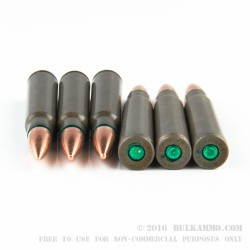 20 Rounds of 8mm Mauser Ammo by Hotshot - 170gr FMJ