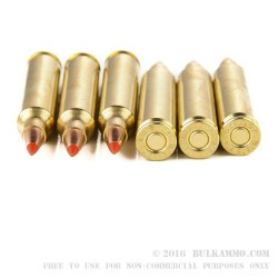 20 Rounds of .204 Ruger Ammo by Hornady - 40gr V-Max