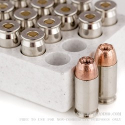 20 Rounds of .45 ACP Ammo by Winchester - 230gr JHP