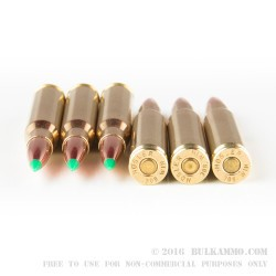 20 Rounds of .308 Win Ammo by Nosler Ammunition - 165gr Nosler Ballistic Tip