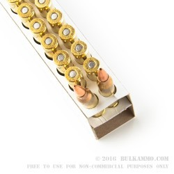 20 Rounds of .223 Ammo by DPX Ammunition - 62gr Solid Copper Hollow Point