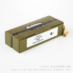 300 Rounds of 5.56x45 Ammo by Rio Ammunition - 62gr FMJ