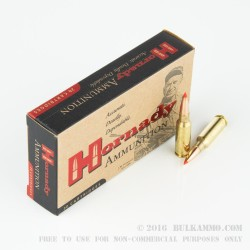 200 Rounds of 6.5mm Grendel  Ammo by Hornady - 123gr A-Max