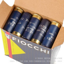 25 Rounds of 12ga Ammo by Fiocchi - 7/8 ounce #7 1/2 shot