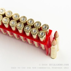 200 Rounds of 30-06 Springfield Ammo by Fiocchi - 180gr SST