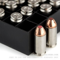 20 Rounds of .40 S&W Ammo by Hornady Critical Defense - 165gr JHP FTX