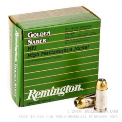 25 Rounds of .45 ACP Ammo by Remington - 230gr JHP