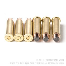 50 Rounds of .357 Mag Ammo by PMC - 158gr JSP