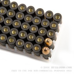 100 Rounds of 9mm Ammo by Tula - 115gr FMJ