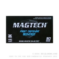 1000 Rounds of 9mm Ammo by Magtech - 124gr JHP