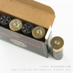"""250 Rounds of 3-1/2"""" 12ga Ammo by Winchester Double-X -  00 Buck"""