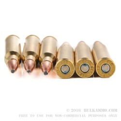 20 Rounds of .270 Win Ammo by Federal - 130gr Fusion
