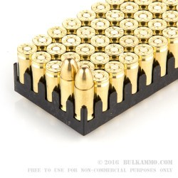 500 Rounds of 9mm Ammo by Sellier & Bellot - 115gr FMJ