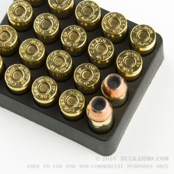 20 Rounds of .45 ACP +P Ammo by Corbon - 185gr JHP