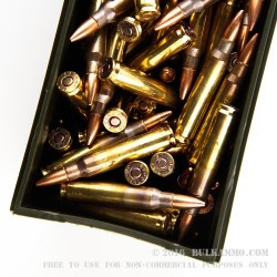 120 Rounds of 5.56x45 Ammo by Federal - 55gr FMJBT