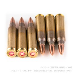 1000 Rounds of 5.56x45 Ammo by Igman Ammunition - 55gr FMJ