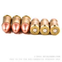 350 Rounds of 9mm Ammo by Blazer Brass - 115gr FMJ