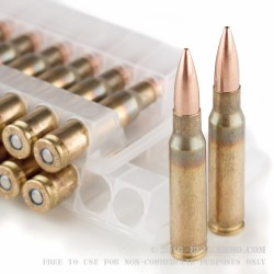 500  Rounds of 7.62x51mm Ammo by Federal - 175gr HPBT