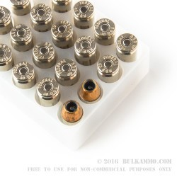 20 Rounds of .40 S&W Ammo by Federal - 165gr JHP