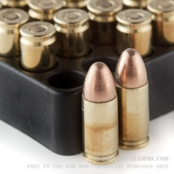 20 Rounds of 9mm Ammo by Black Hills Ammunition - 115gr FMJ