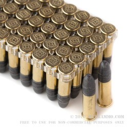 500 Rounds of .22 LR Ammo by Gemtech Subsonic - 42 gr LRN