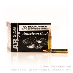 450 Rounds of 5.56x45 Ammo by Federal - 55gr FMJBT