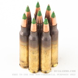 300 Rounds of 5.56x45 XM855 Ammo by Federal - 62gr FMJ