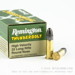 500  Rounds of .22 LR Ammo by Remington - 40gr LRN