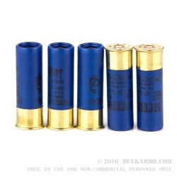 10 Rounds of 12ga Ammo by NobelSport -  #4 Buck