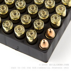 1000 Rounds of 9mm Ammo by Magtech - 115gr FMC