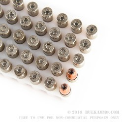 50 Rounds of 9mm Ammo by Speer - 115gr JHP