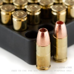 20 Rounds of 9mm Ammo by Corbon - 95gr DPX