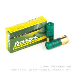 250 Rounds of 12ga Ammo by Remington -  00 Buck