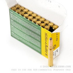 20 Rounds of 9.3x62mm Mauser Ammo by Sellier & Bellot - 285gr SP