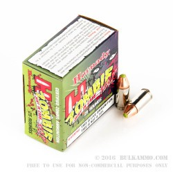 250 Rounds of 9mm Ammo by Hornady - 115gr Zombie Z-Max