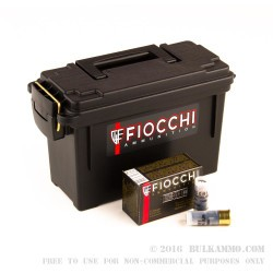 80 Rounds of 12ga Ammo by Fiocchi LE Low Recoil -  Rifled Slug