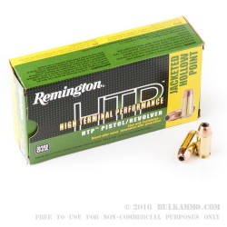 50 Rounds of .45 ACP Ammo by Remington - 185gr JHP