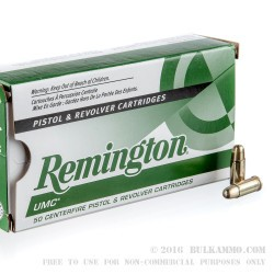 500 Rounds of .25 ACP Ammo by Remington - 50gr MC