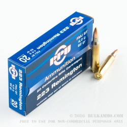 200 Rounds of .223 Ammo by Prvi Partizan - 62gr FMJBT