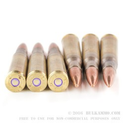 10 Rounds of .50 BMG Ammo by Federal - 660 gr FMJ